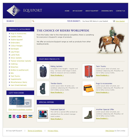 Equiport Website