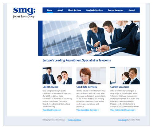 Website for Recruitment Agency